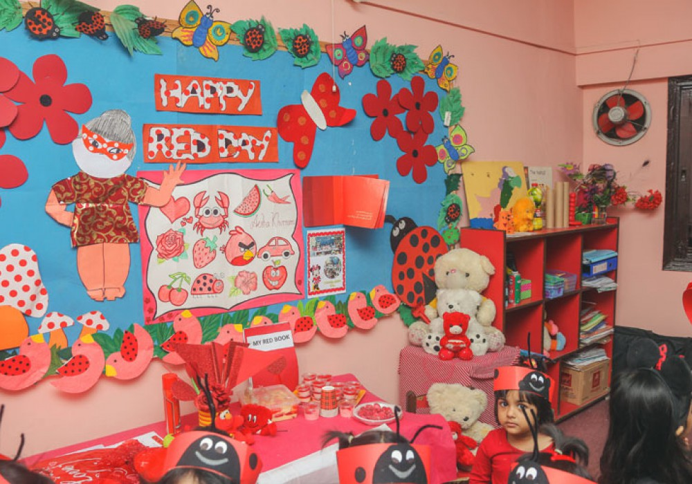 Red Day Activity