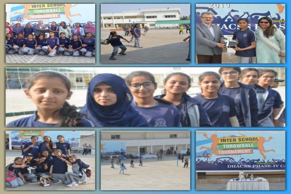 Inter School Throwball Championship 2019