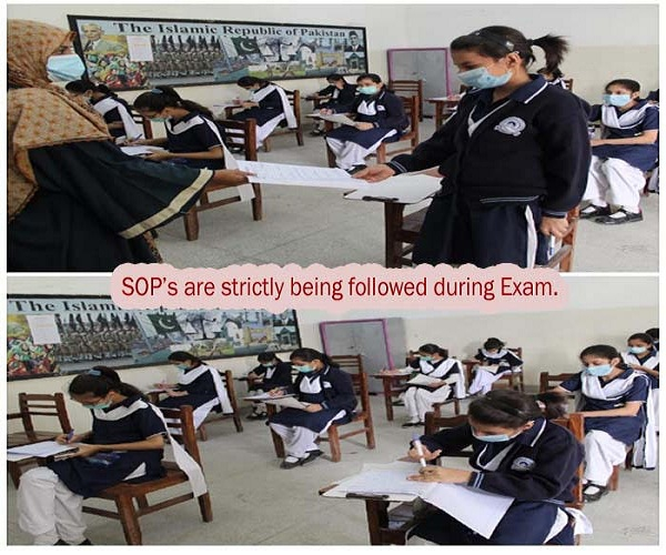 SOP's are followed during examination